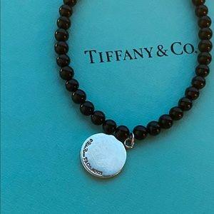 Tiffany & Co. Jewelry - Tiffany Black Onyx Loving Heart Bracelet